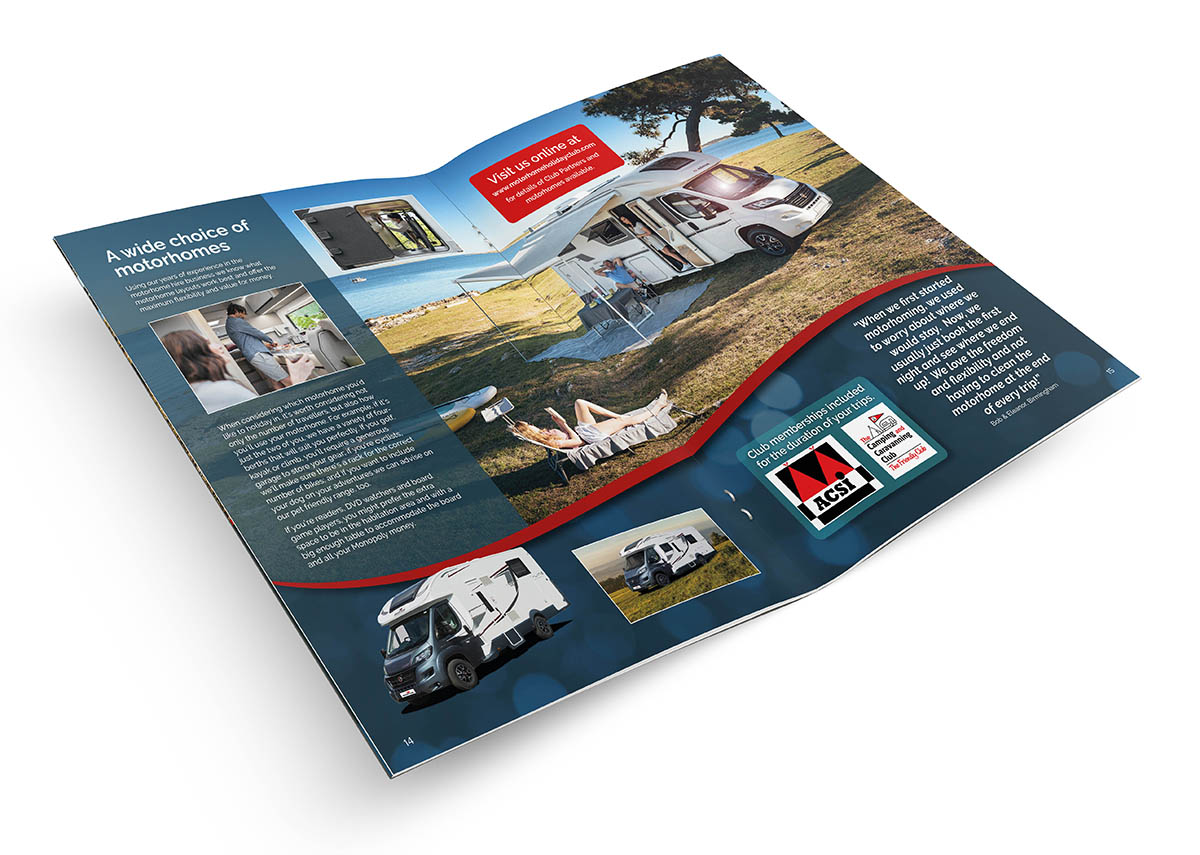 The Motorhome Holiday Club Brochure